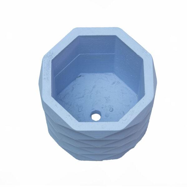 Sky Hexagon Concrete Cement Pot 6 inch