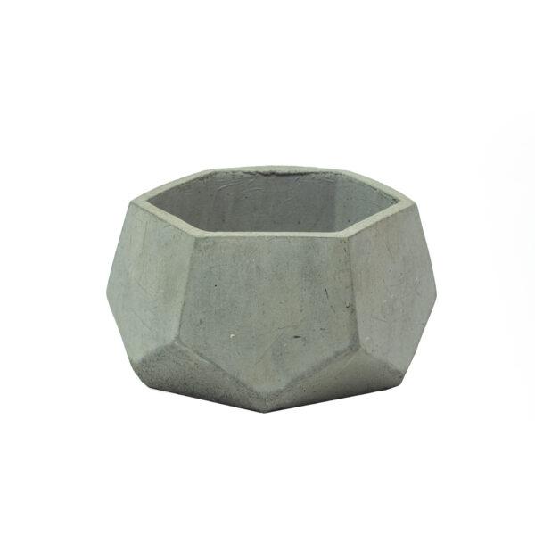 Grey Mini Concrete Pot
