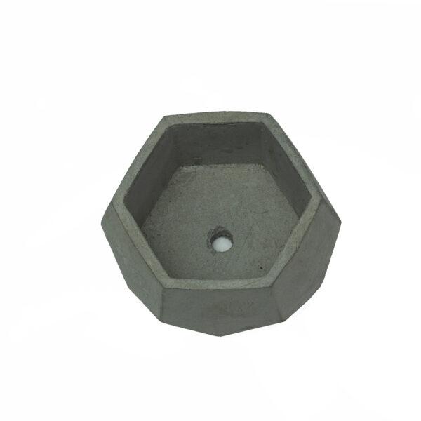 Grey Mini Concrete Cement Pot