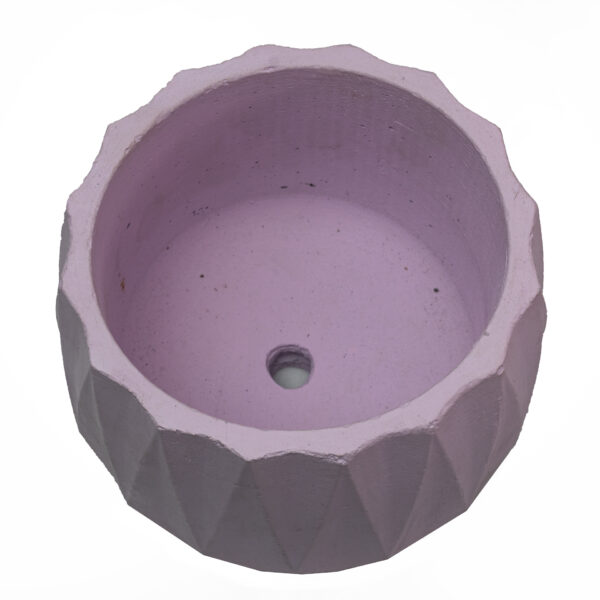 Pink Cylintrope Concrete Cement Pot